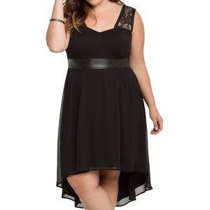 Torrid NWT Sz 3X Tripp NYC Collection Hi-Lo Dress